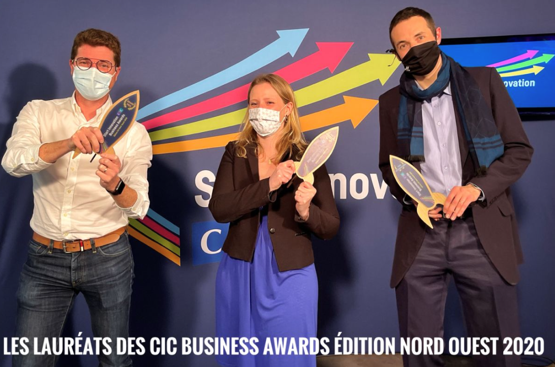 Lattice Medical lauréat du grand prix CIC Nord Ouest StartinnovationAwards